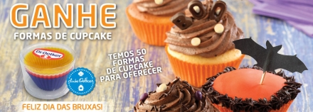 Ganhe Formas de Cupcake